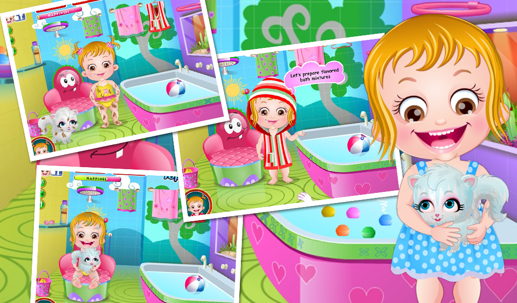 baby hazel spa bath android apps on google play. Black Bedroom Furniture Sets. Home Design Ideas