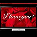 Romantic Love Notes Chromecast icon