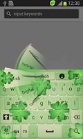 Screenshot of Irish Luck Keyboard