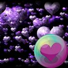 Púrpura precioso HD Wallpapers icon