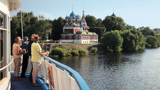 Viking-River-Cruises-church-Uglich-Russia - Guests will have a spectacular views of landmarks along the Volga River during your Viking River Cruises odyssey, including this church in Uglich, Russia.
