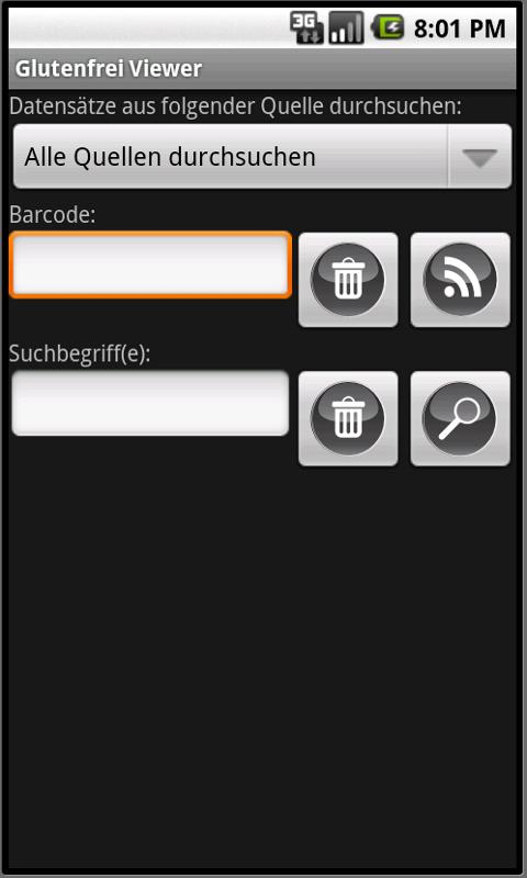 Glutenfrei Viewer - screenshot