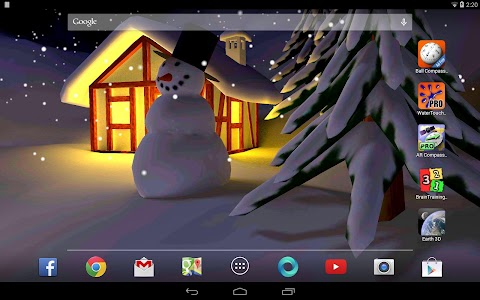 Winter Snow in Gyro 3D Pro v1.0.1