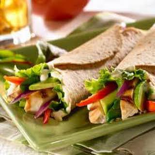 Chicken & Avocado Wraps.