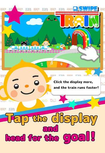 Swipe Train–For Kids Toddler