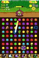Screenshot of Fruit Fire Monster Saga