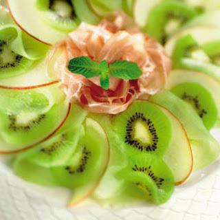 Ganda Ham Met Fruitcarpaccio
