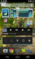 Screenshot of Mobile Data Widget