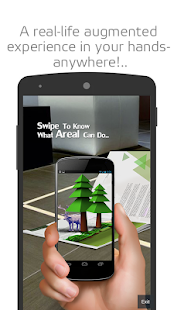 AREAL :  Augmented Reality App - screenshot thumbnail