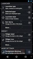 Screenshot of CircleLauncher light