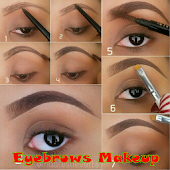 Eyebrows makeup