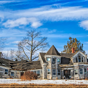 What used to be... by Patti Reddoch - Buildings & Architecture Decaying & Abandoned