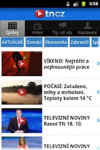 TN.cz - screenshot thumbnail