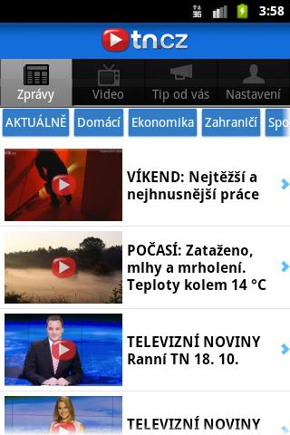 TN.cz - screenshot