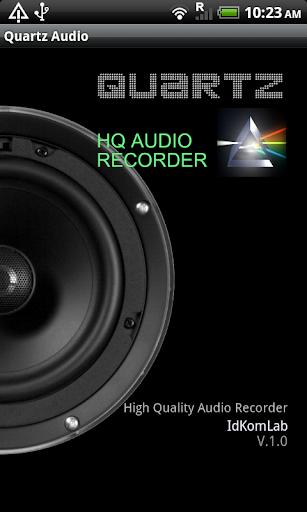 Quartz HQ Audio Recorder