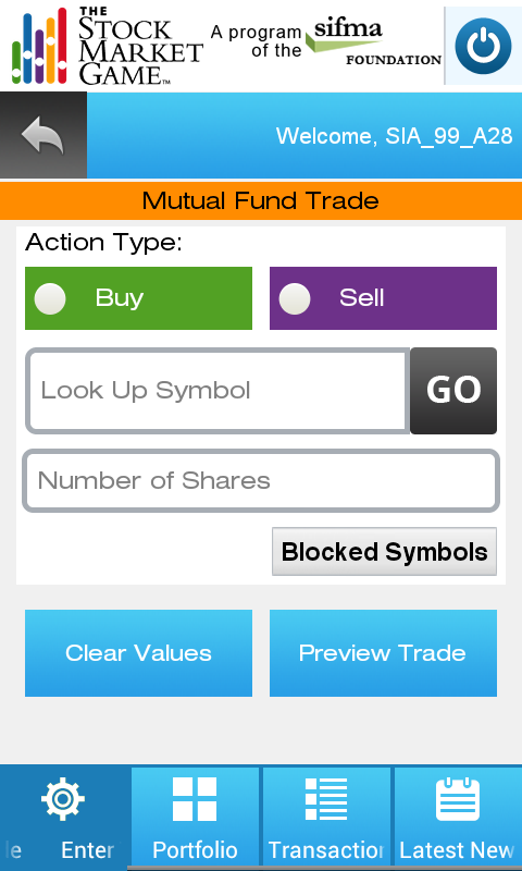 The Stock Market Game- screenshot