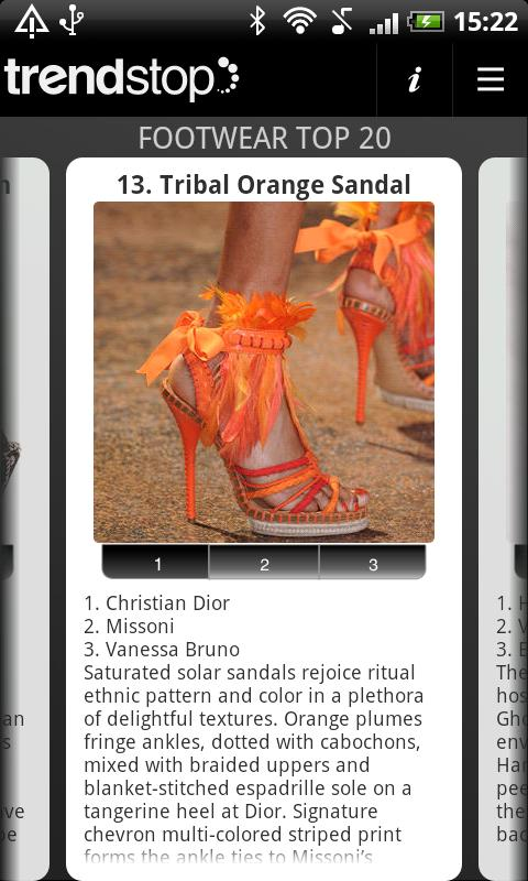 Shoe Trends: Trendstop Top 20 - screenshot