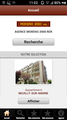 Agence Moreno 2000 RER