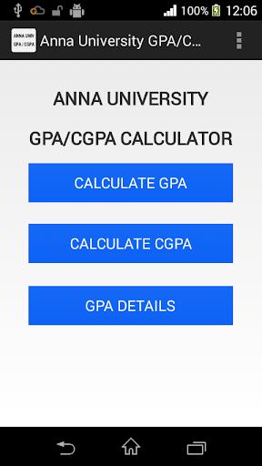 Anna University GPA CGPA