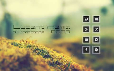 Lucent Remix Icons - Icon Pack v1.9