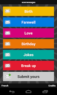 sosmessages - birthday, love - screenshot thumbnail
