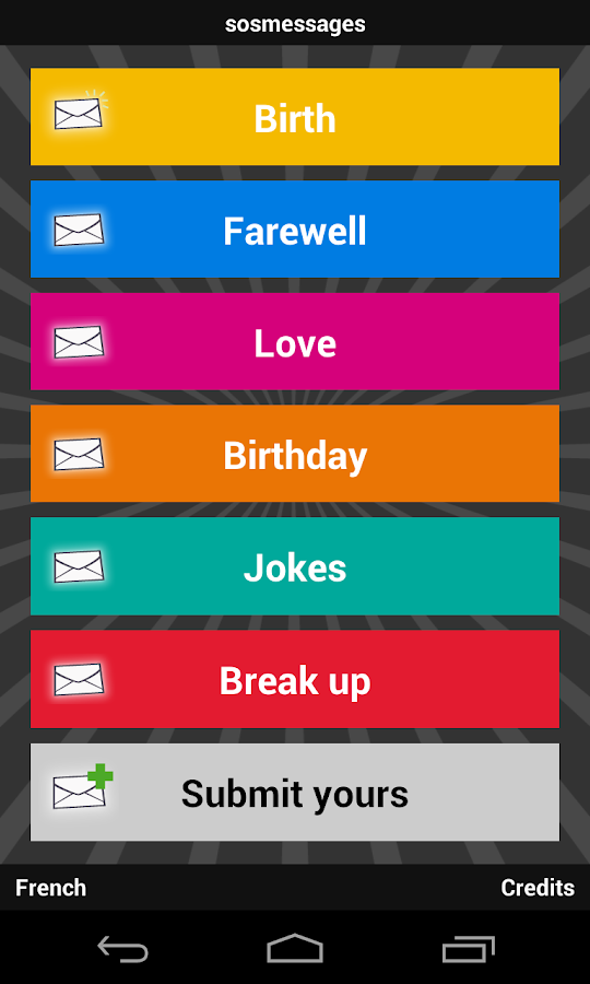 sosmessages - birthday, love - screenshot