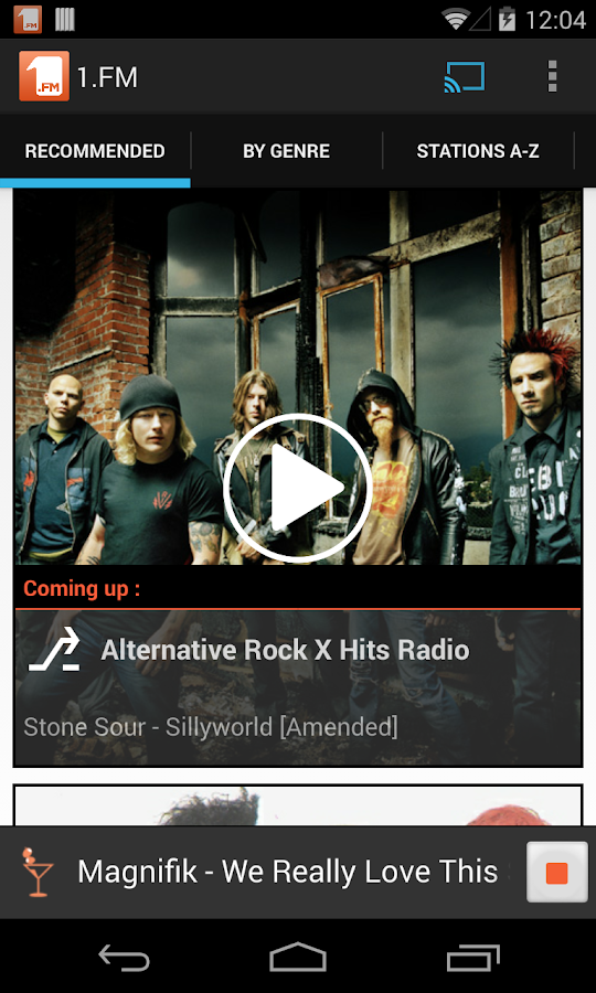 1.FM Online Radio Official app- screenshot