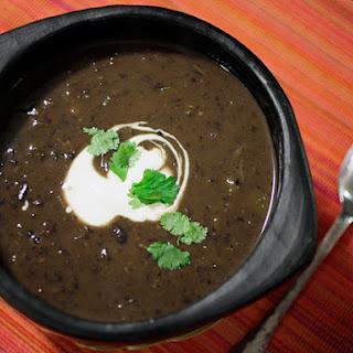 30-Minute Black Bean Soup