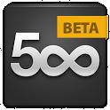 500px Beta icon