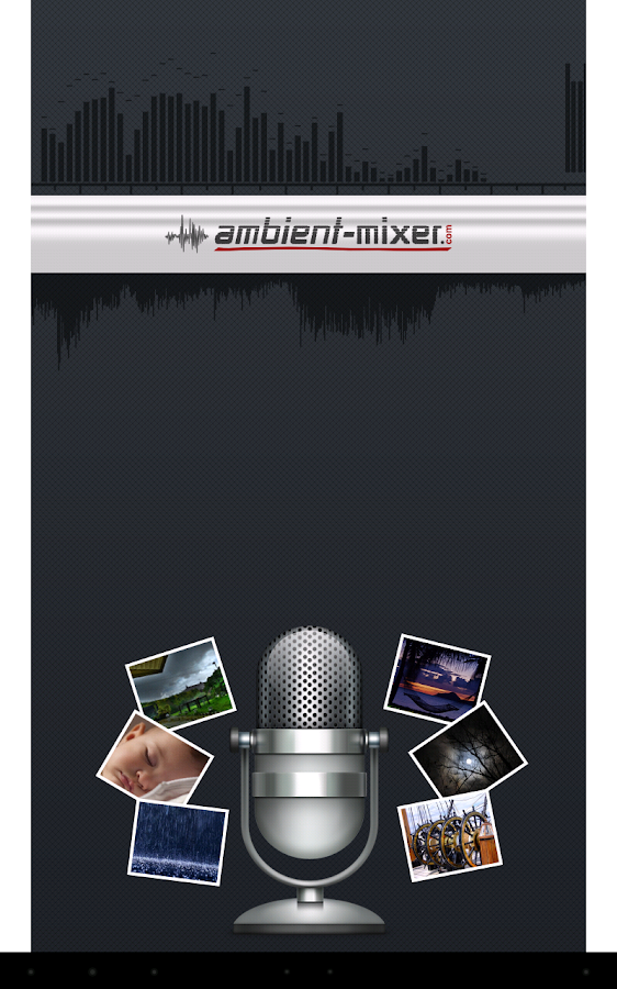 Ambient Mixer- screenshot