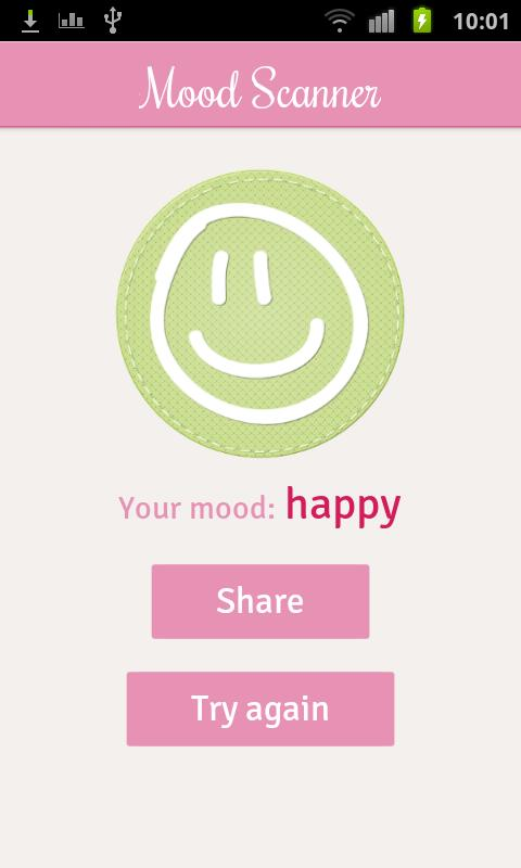 Mood Scanner - screenshot