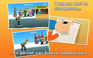 Screenshot of Elfstedentocht - the Game