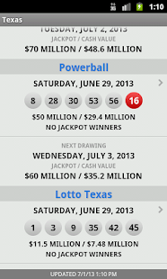 Lotto Results Premium - screenshot thumbnail