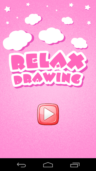 Relax Drawing, funny cartoon characters, matching games, your kids, drawing game