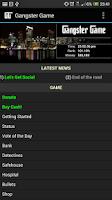 Screenshot of Gangster Game