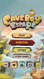 Caveboy Escape- screenshot thumbnail