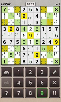 Andoku Sudoku 2 - screenshot
