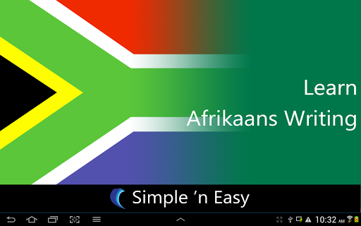 Learn Afrikaans Writing
