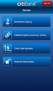 Citibank TH - screenshot thumbnail