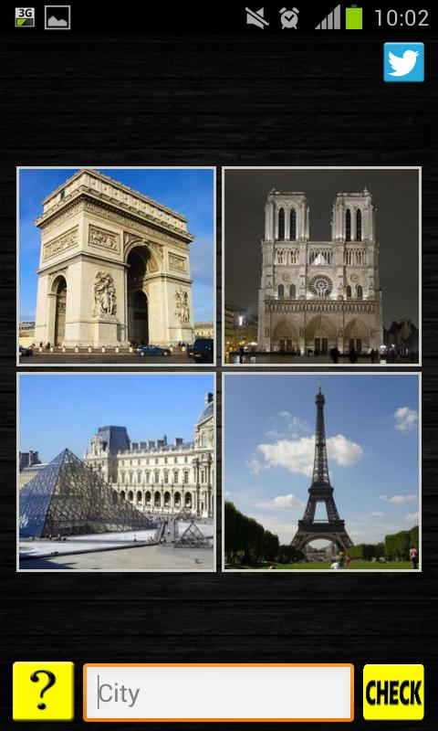 4 Pics 1 Word - City / Country - screenshot