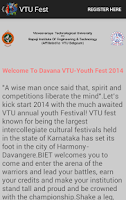 Screenshot of VTU Fest 2014