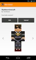 Screenshot of Minecraft Skin Studio