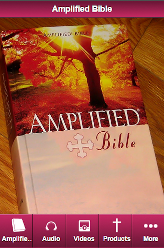 Amplified Bible Study AMP Free