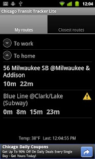 Chicago Transit Tracker Lite- screenshot thumbnail