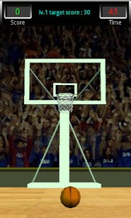 3D Basketball Shot- screenshot thumbnail