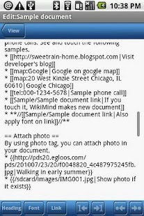 WikiMind note lite- screenshot thumbnail