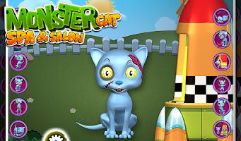 Screenshot of Monster Cat Spa & Salon