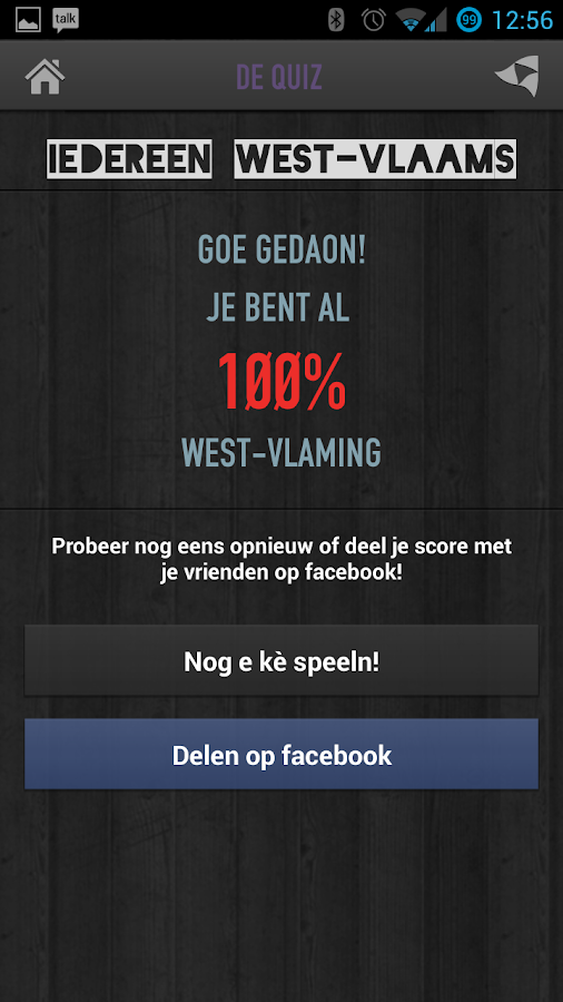 Iedereen West-Vlaams - screenshot
