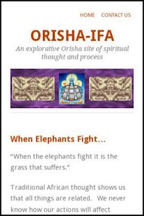 Orisha Ifa Daily Wisdom - screenshot thumbnail