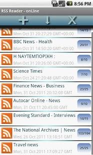 RSS Offline Reader- screenshot thumbnail